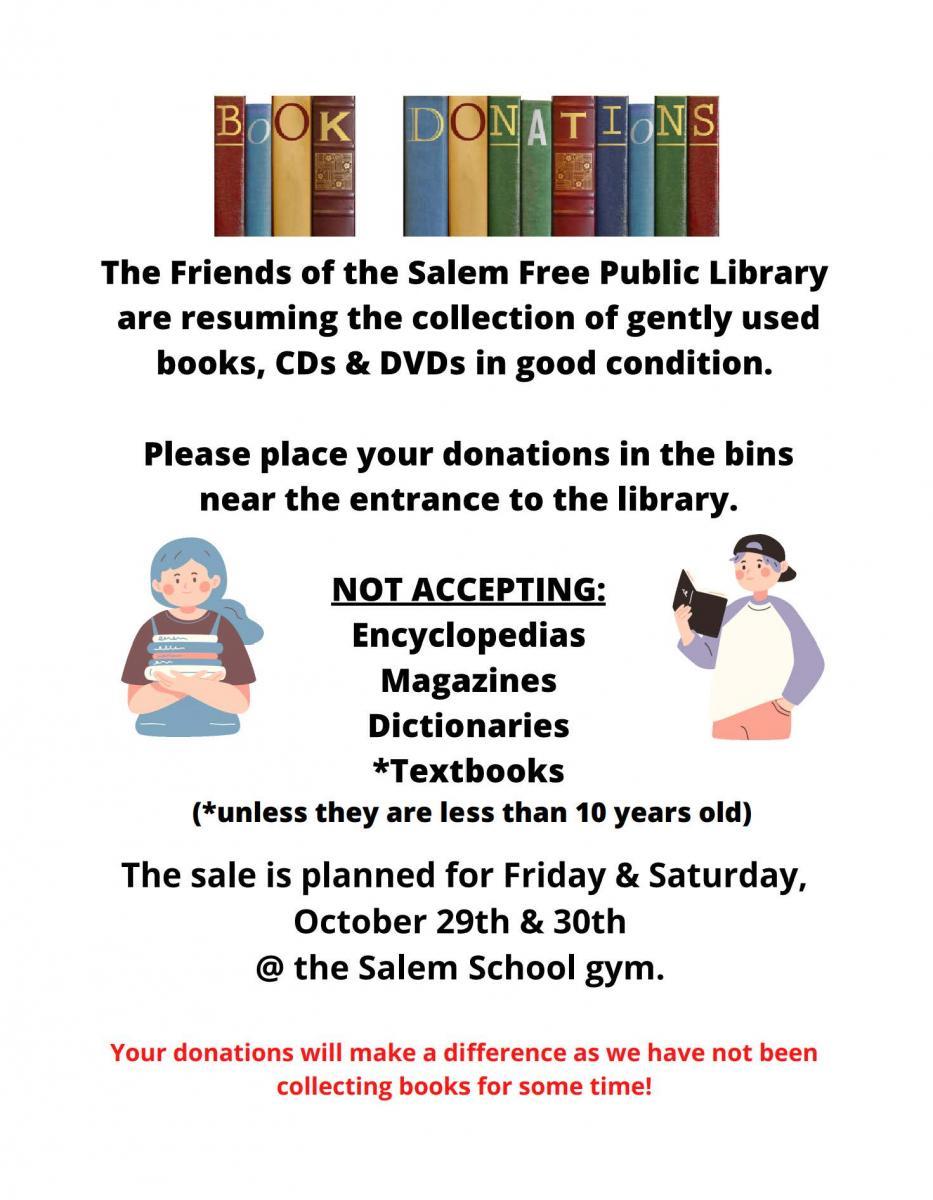 book donation